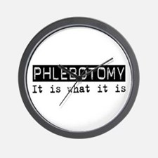 Phlebotomy Is Wall Clock