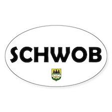 Schwob Bumper Oval Decal