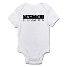 Payroll Is Infant Bodysuit