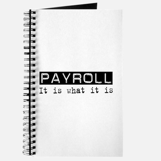 Payroll Is Journal