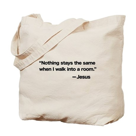 Everything Changes Tote Bag