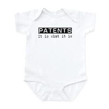 Patents Is Infant Bodysuit