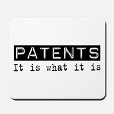 Patents Is Mousepad