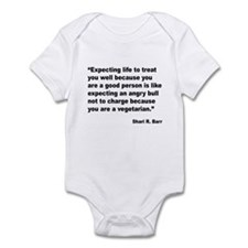 Life Expectations Quote Infant Bodysuit