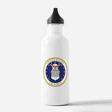 Air Force USAF Emblem Water Bottle