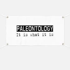 Paleontology Is Banner