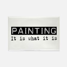 Painting Is Rectangle Magnet
