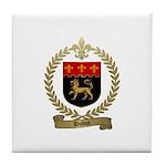 DUBUC Family Crest Tile Coaster