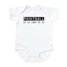 Paintball Is Infant Bodysuit
