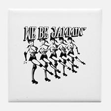 We Be Jammin Tile Coaster