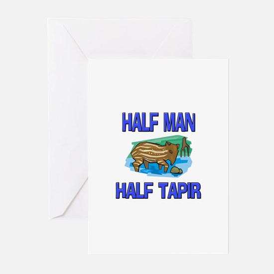 Half Man Half Tapir Greeting Cards (Pk of 10)