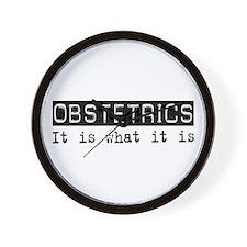 Obstetrics Is Wall Clock