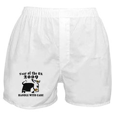 Year of The OX 2009 Boxer Shorts