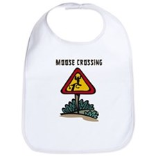 Moose Crossing Bib