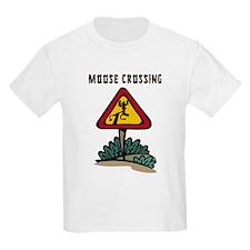 Moose Crossing Kids T-Shirt