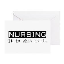 Nursing Is Greeting Card
