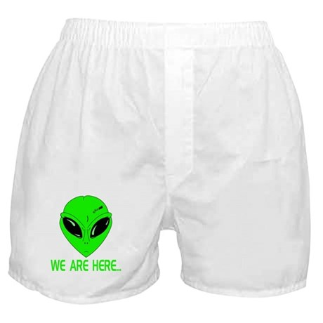 We Are Here... Boxer Shorts