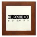 Neuroscience Is Framed Tile