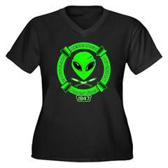 Earthling Research Division - Women's Plus Size V-