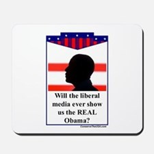 """The Liberal Media"" Mousepad"