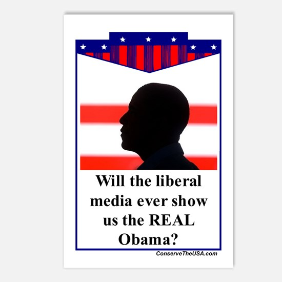 """The Liberal Media"" Postcards (Package of 8)"