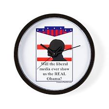 """The Liberal Media"" Wall Clock"
