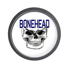 BONEHEAD Wall Clock