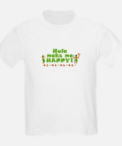 Hula Makes Me Happy T-Shirt