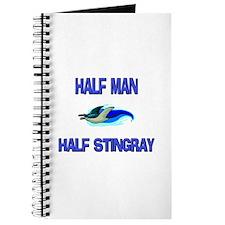 Half Man Half Stingray Journal
