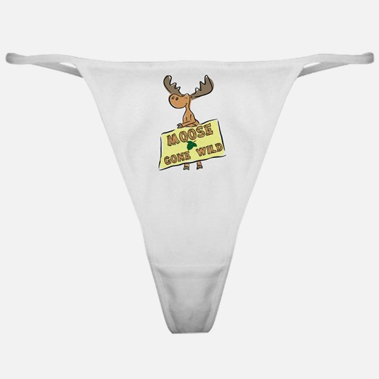 Moose Gone Wild Classic Thong