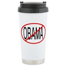 No Obama Travel Mug