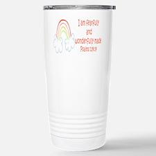 Psalms 139:14 Travel Mug