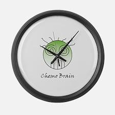 Chemo Brain Large Wall Clock