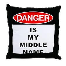 Unique Danger Throw Pillow