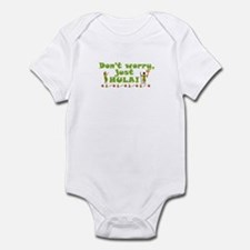 Don't Worry Just Hula 1 Infant Bodysuit