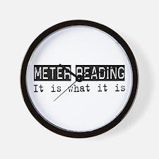 Meter Reading Is Wall Clock
