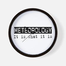 Meteorology Is Wall Clock
