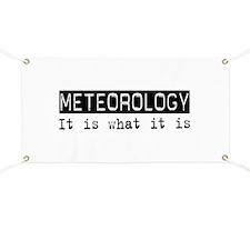 Meteorology Is Banner