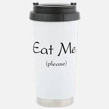Eat Me Stainless Steel Travel Mug