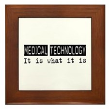 Medical Technology Is Framed Tile