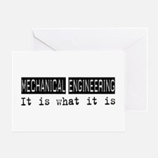 Mechanical Engineering Is Greeting Card