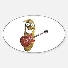 Rocker Pickle Sticker (Oval)