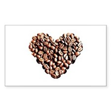 Coffee Lover Rectangle Decal