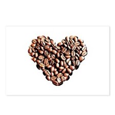 Coffee Lover Postcards (Package of 8)