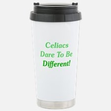 Celiacs Dare To Differ Stainless Steel Travel Mug