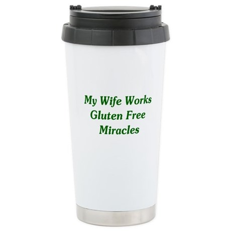 Gluten Free Miracles Stainless Steel Travel Mug