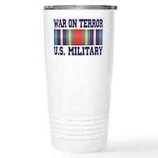 War On Terror Service Ribbon Travel Mug
