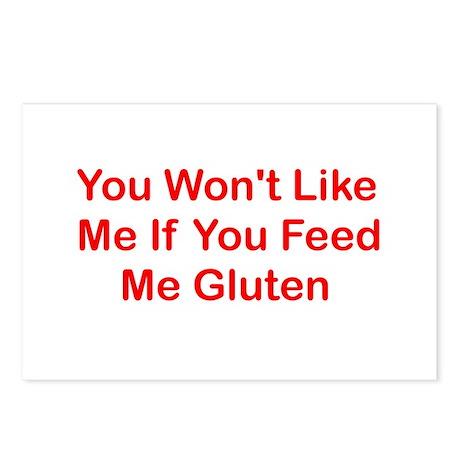 Won't Like Me - Gluten Postcards (Package of 8)