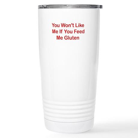 Won't Like Me - Gluten Stainless Steel Travel Mug
