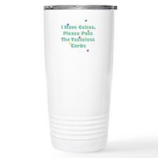 I Have Celiac Thermos Mug